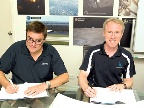DEWC Systems, Gilmour Space collaborate to launch the next-gen MOESS system