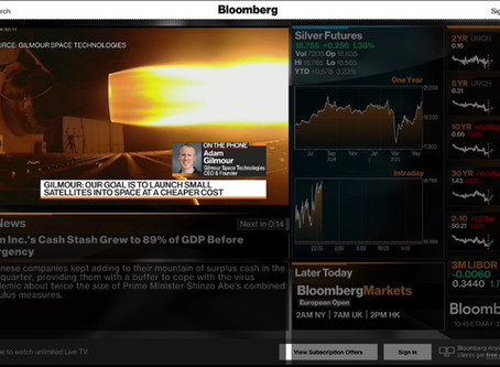 Interview with Bloomberg Market Asia
