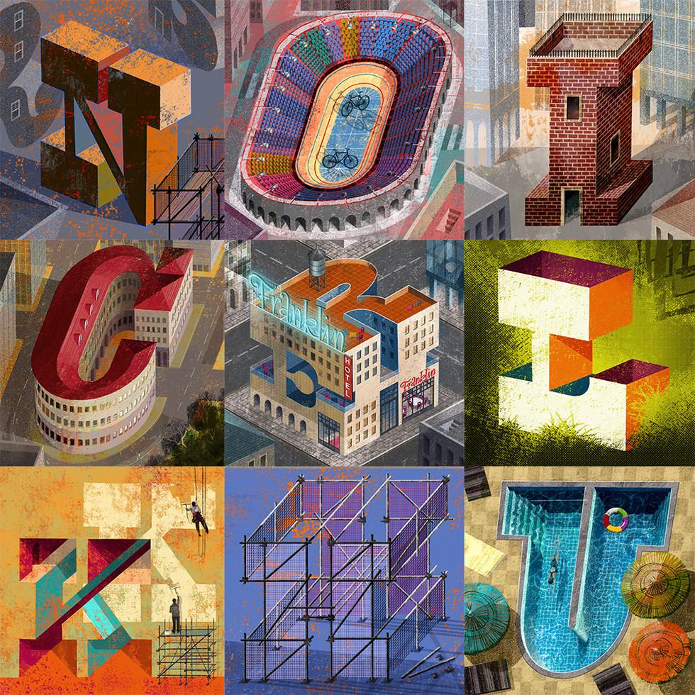 'Slab Serif City' project