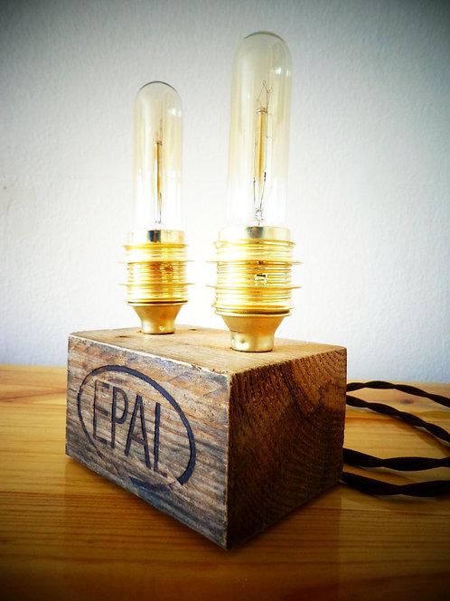 Industrial table lamp model James Watt