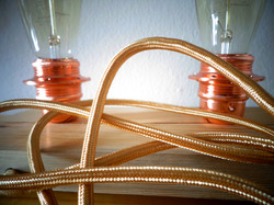 Vintage table lamp with centennial w
