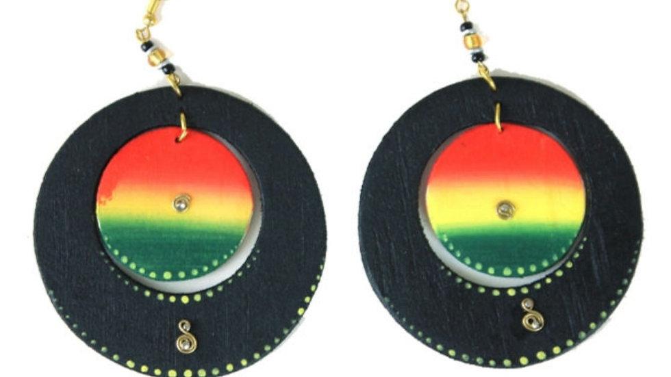 Colors of Africa Earrings