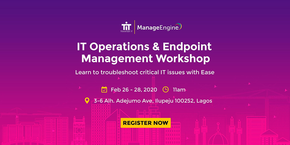 ManageEngine Resellers Seminar 2020 - ITSM