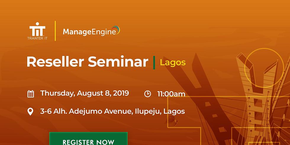 Tranter IT Manageengine Resellers Seminar - Lagos 2019 (1)