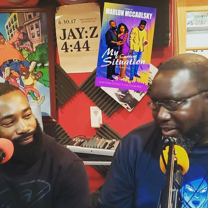 Author Marlon McCaulsky and Actor Tarver
