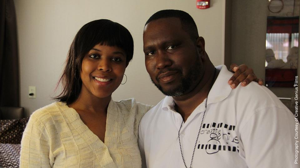 Marlon McCaulsky and Actress Sheena Williams