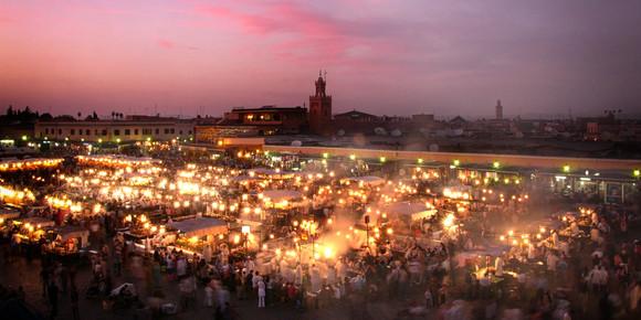 Jemaa el-Fnaa, Marrakech, Morocco.jpg