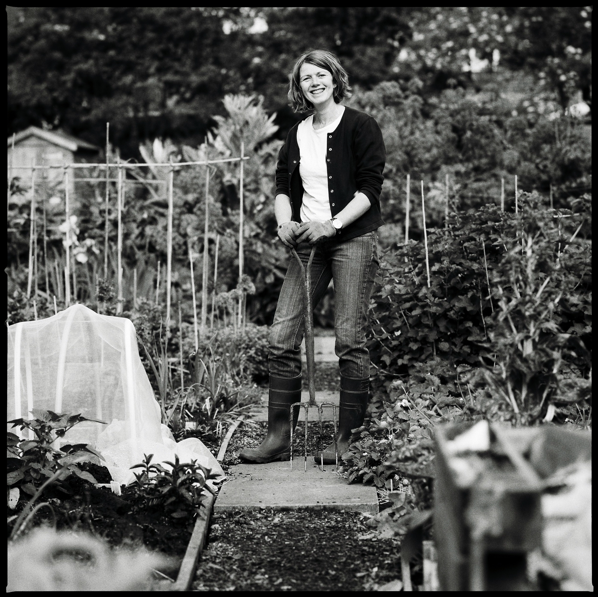 Lesley Benton, Allotment Holder
