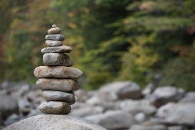 Rock Sculpture, Swift River, Albany, New