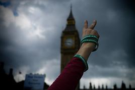 Democracy 4 Iran, Westminster, London.jp