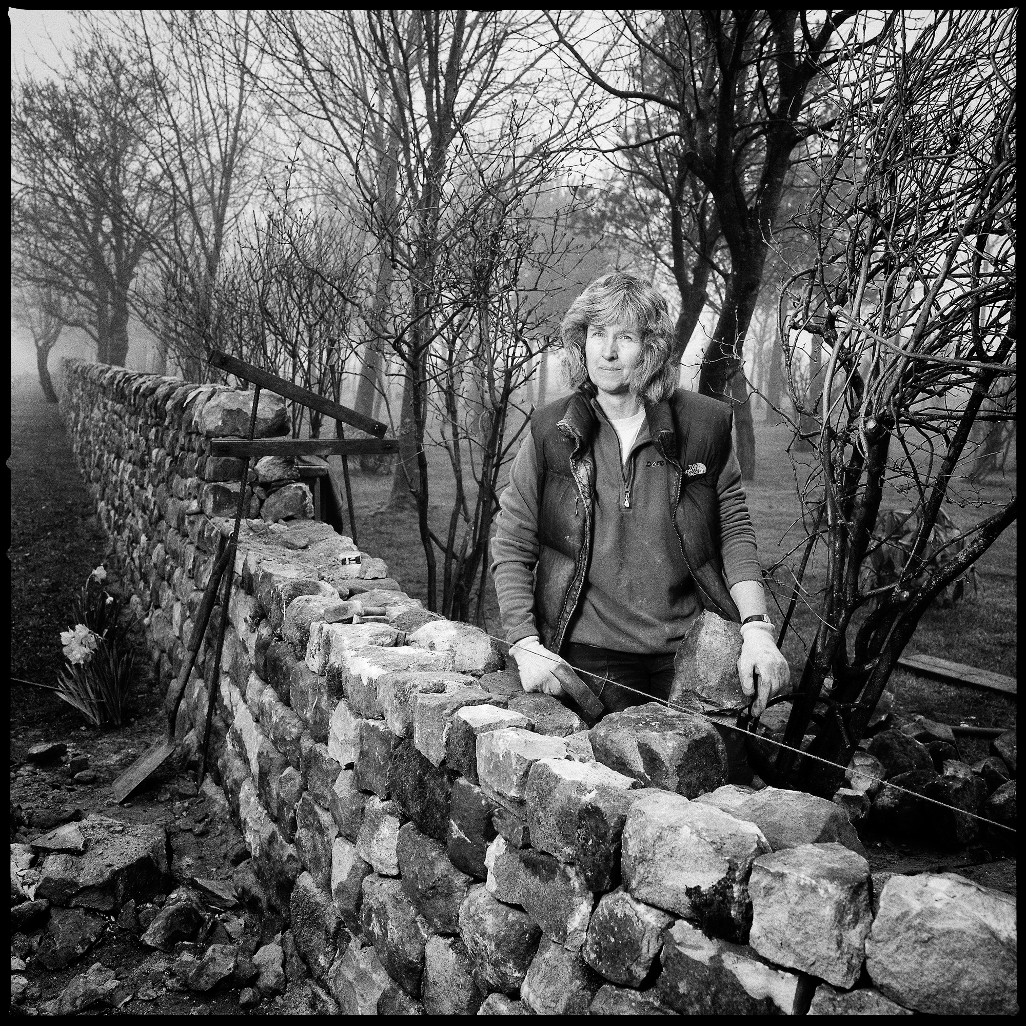 Tracey Blackwell, Drystone Waller