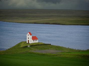 Church, Ulfljotsvatn, Iceland