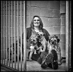 Jane Jordan, Border Terrier Breeder