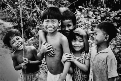 Group of Children, Da Nang, Vietnam