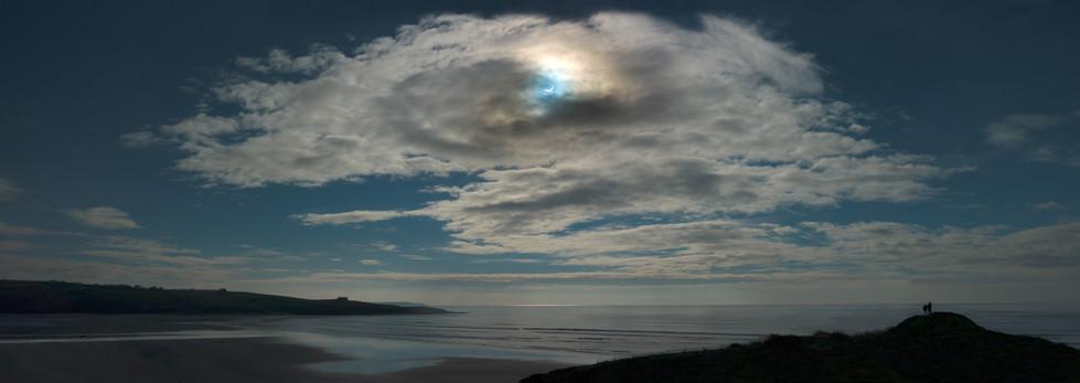 Solar Eclipse, Inchydoney Island, West Cork, Ireland