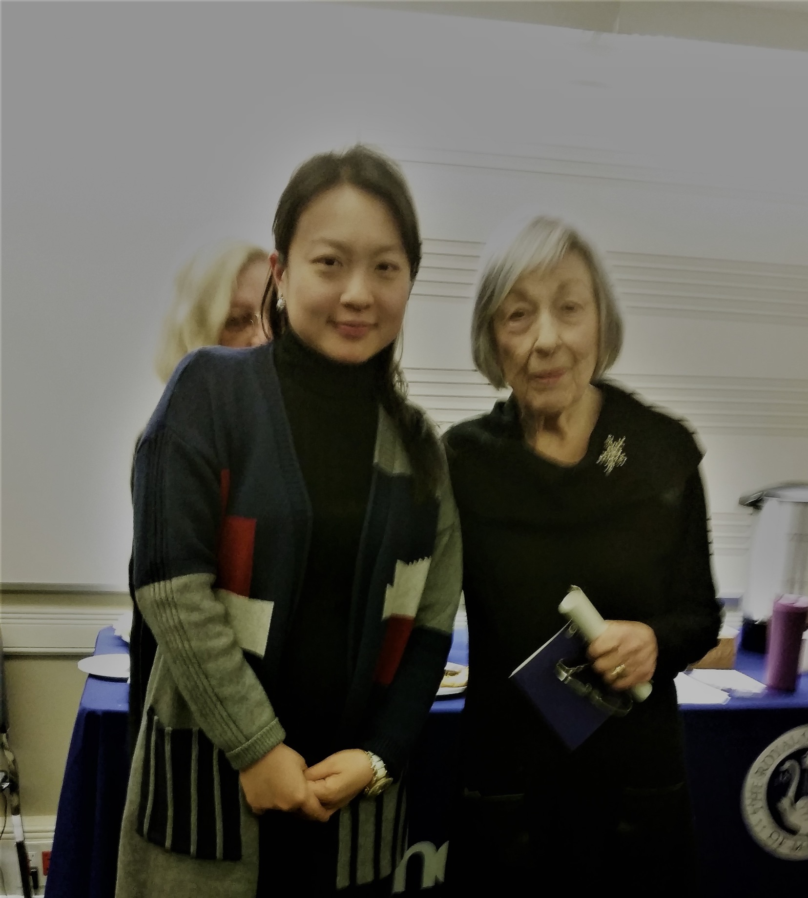 with Canadian composer Norma Beecroft