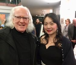 With renowned flutist Robert Aitken