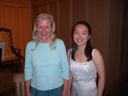 With Elizabeth Cifani