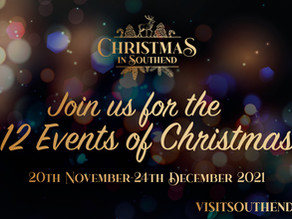 Southend BID announce 12 exciting Christmas events.