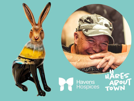 Havens Hospice appeal to keep Paul Karslake's Trail Hare