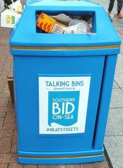 'Talking' Bins