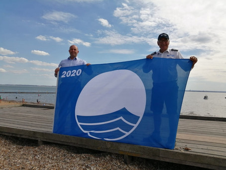 Five Blue Flag awards for Southend beaches