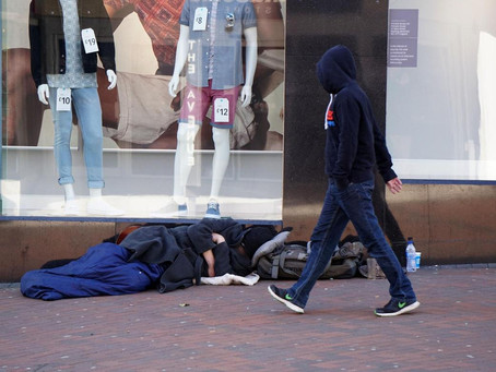 Rough sleeper stats drop but there is still more to do
