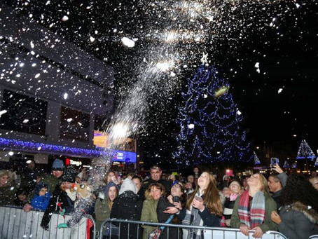Christmas Switch On Success