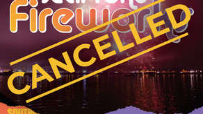 Tomorrow's fireworks cancelled - 23th October 2021