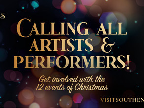 Southend BID call for local artists and performers to join their 'Christmas in Southend' events.