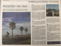 Southend-on-Sea featured in the Guardian's Travel Guide