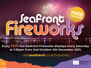 Southend BID's proposal for 10 firework displays this autumn are approved.