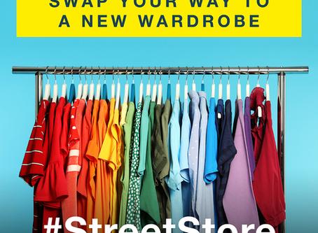 Pop Up Street Stall - Clothes Swap