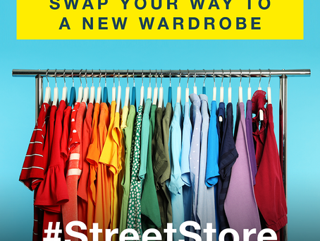 Pop Up Street Stall - Clothes Swap