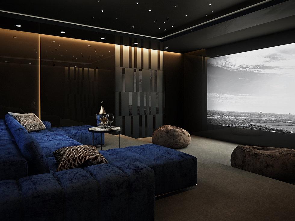 Home Cinema in Nottingham, Surrey London UK