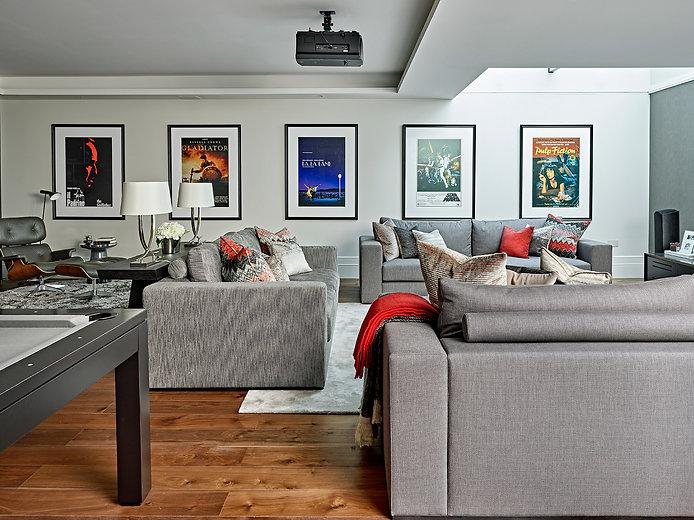 Home Cinema Installation, Smart Home Technology and Smart Home Installation in Nottingham, Surrey London UK