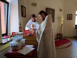 Богослужение в  в Неделю 7-ю по Пасхе.