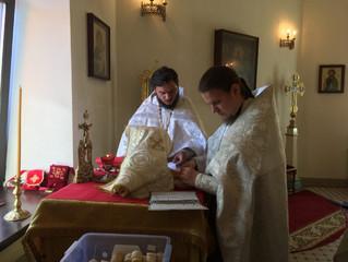 Богослужение в Троицкую родительскую субботу.