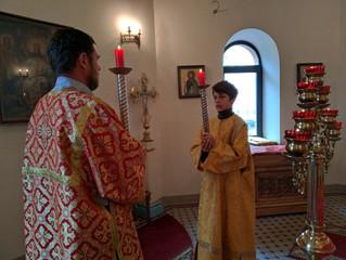 Богослужение во вторник 2-й седмицы по Пасхе.