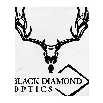 Black Diamond Throw Blanket