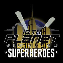 10 Planet Superheroes Logo