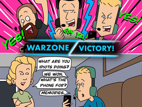 Warzone - When it's okay for men to cry.