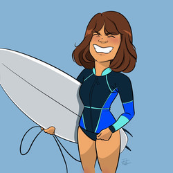 Surfer Nora
