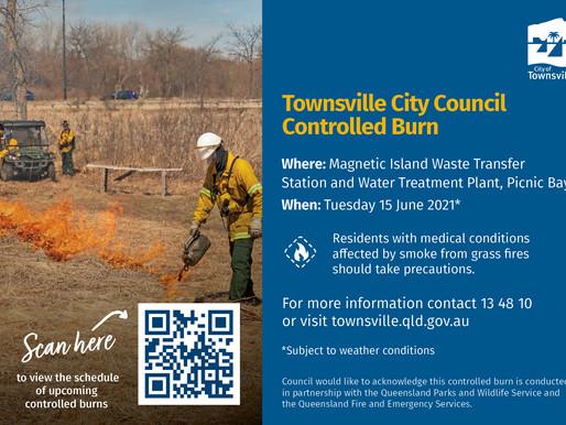 Controlled TCC Burn POSTPONED