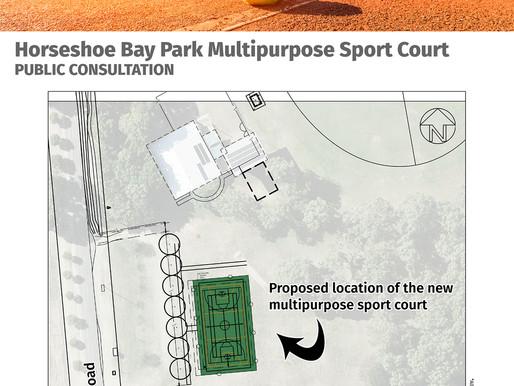 Multipurpose court Horseshoe Bay Park  - Four Different Sports