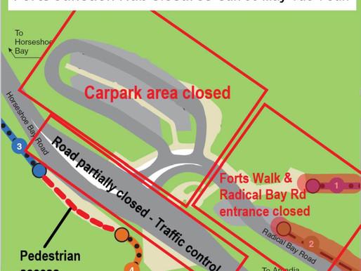 Forts Walk - Radical Bay Road UPDATE