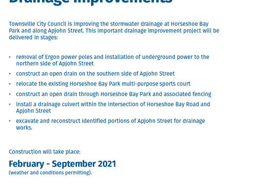 Apjohn Street Drainage Improvements