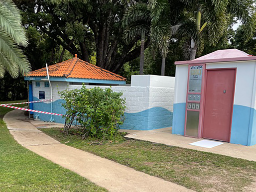 Toilets on the way for Picnic Bay