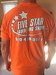 Five Star Lawn and Snow uniform Richmond MI