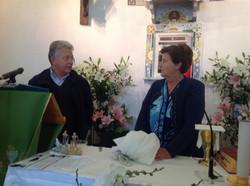 Le prêtre et Caterina (la voyante)